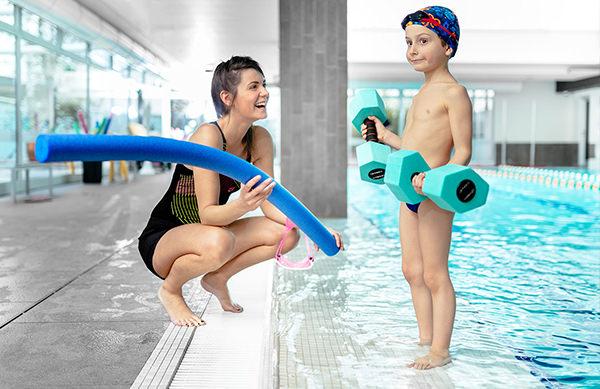 Wellfit la Palestra Parma - Piscina - Corsi nuoto bambini - Sara Anella - mobile