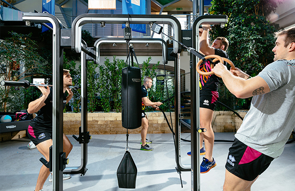 Wellfit la Palestra Parma - Technogym Omnia - Allenamento funzionale - Zebre Rugby Club - mobile